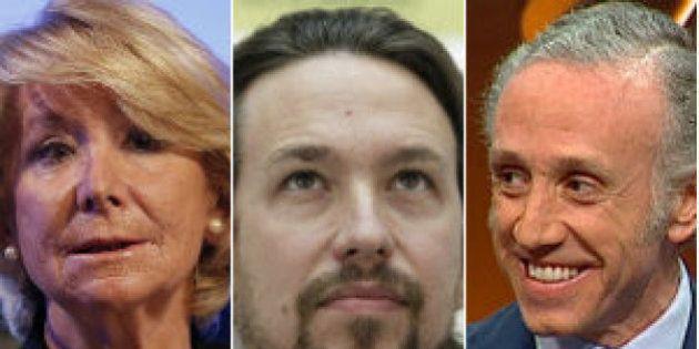 Podemos pide ayuda económica para demandar a Esperanza Aguirre y a Eduardo