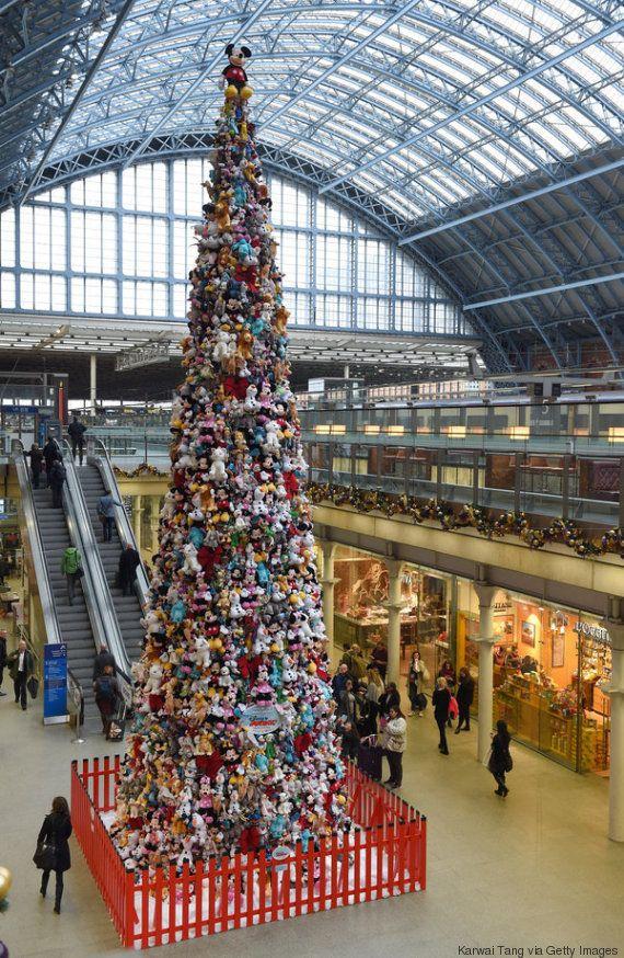 Los árboles de Navidad más extravagantes y creativos de