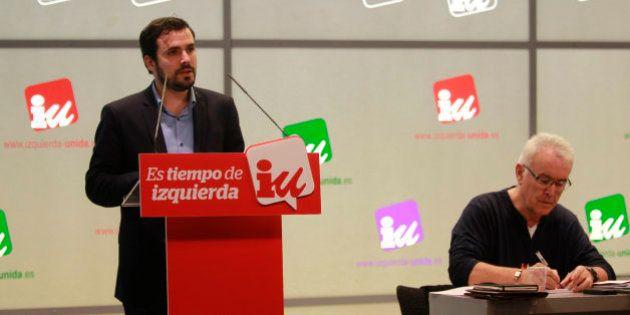 Garzón defiende que IU debe