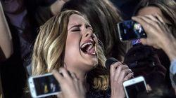 Adele manda a una fan parar de grabar su