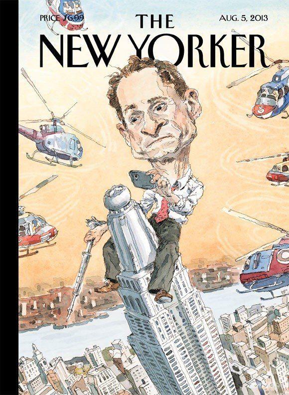 Algo pasa con Anthony: el candidato a la alcaldía de Nueva York que sobrevive a sus escándalos