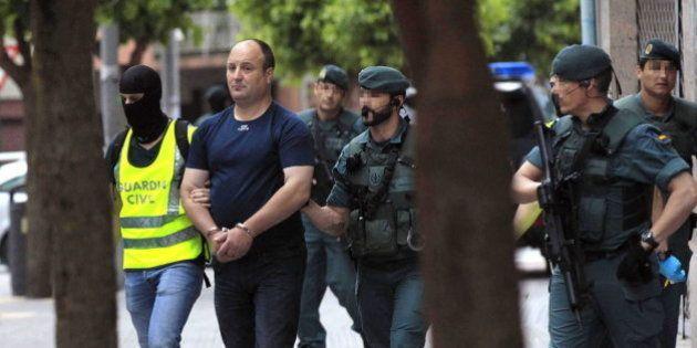 La Guardia Civil detiene en Vizcaya a un miembro del comando Otazua de