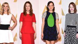 Los nominados a los Oscar se dan un banquete