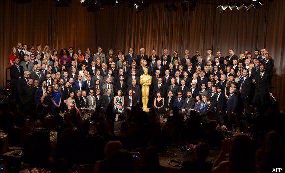 Oscar 2015: los nominados celebran su tradicional almuerzo