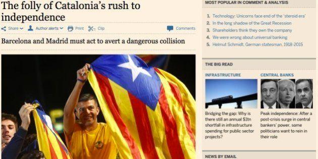 El 'Financial Times' tilda de