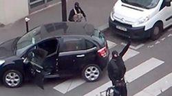 Un nuevo vídeo muestra a los terroristas tras atacar 'Charlie