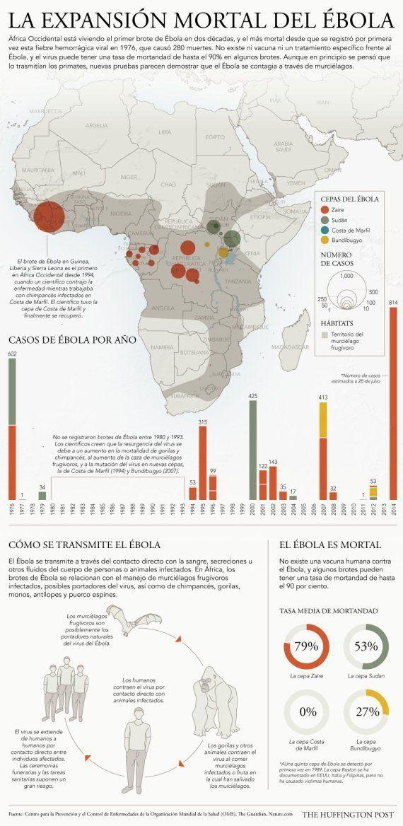 La OMS declara el brote de ébola emergencia sanitaria