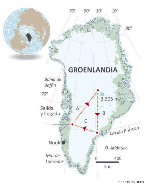 La expedición Cumbre de Hielo Groenlandia 2016 alcanzará los 3.205 metros de altitud en el