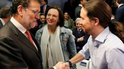 Rajoy e Iglesias bajan sus valoraciones, Rivera sube y Sánchez se