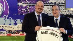 Rafa Benítez, entrenador del Real
