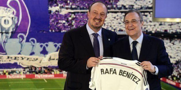 El Real Madrid confirma el fichaje de Rafa Benítez como