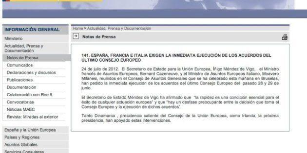 Francia e Italia desmienten a España y niegan haber metido prisa a la