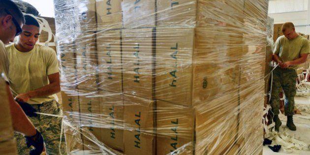 EEUU entrega ayuda humanitaria en Irak por vía