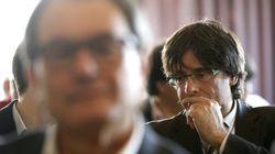 EN DIRECTO: Mas da el relevo a Puigdemont como president en