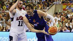 EEUU barre a España y honra al 'Dream Team'