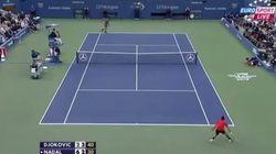 Increíble punto en el Nadal-Djokovic: 54 golpes en 75 segundos