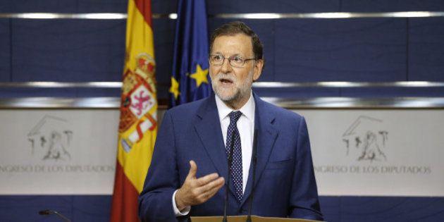 Rajoy advierte de que el bloqueo empieza a minar el crédito de