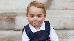 El príncipe Jorge te desea felices fiestas
