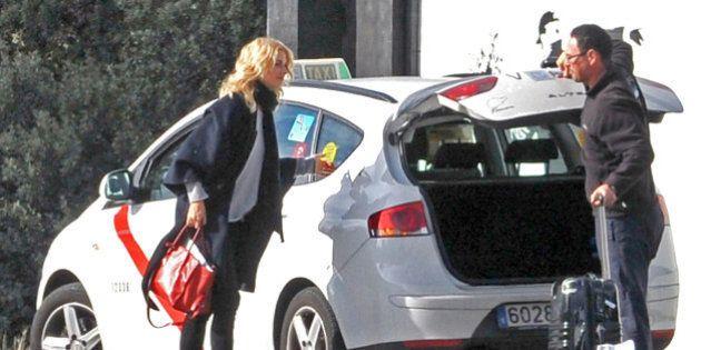 Huelga de los taxistas de Madrid contra el