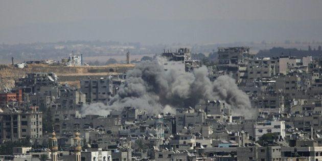 Cinco palestinos muertos en los nuevos ataques israelíes a