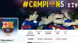 El tuit del Barça que ha desatado la