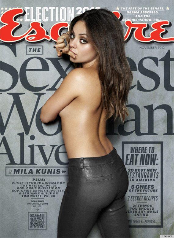 Mila Kunis: la mujer más sexy del mundo, según 'Esquire' (FOTOS,