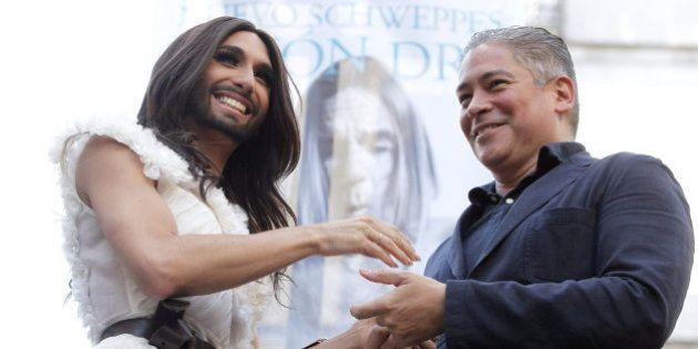 Conchita Wurst inaugura las Fiestas del Orgullo Gay 2014 en Madrid