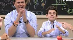 El Rivera más sonriente se somete a las preguntas de un miniparlamento