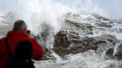 Casi toda España en alerta por oleaje, viento, lluvias o