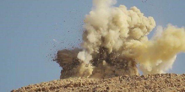 El Estado Islámico vuela dos santuarios de Palmira y mina la histórica ciudad