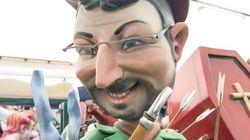 Jordi Évole de Robin Hood y otros ninots muy logrados de este año