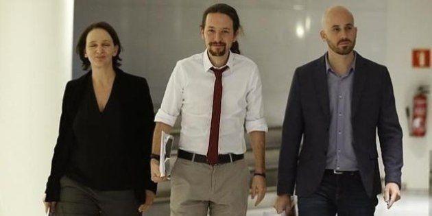 Bescansa y Álvarez, los encargados de Podemos de negociar el programa con