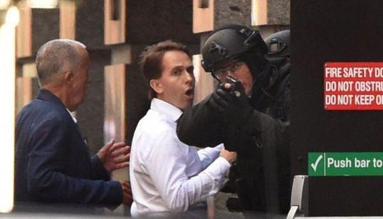 Las imágenes del secuestro en Sidney