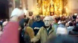 Un grupo pro-abortista interrumpe la misa en una iglesia de Palma