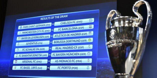 Real Madrid-Schalke, Barça-Manchester City y Atlético-Leverkusen, en octavos de