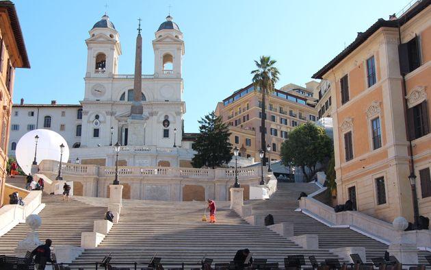 Roma y su escalinata más