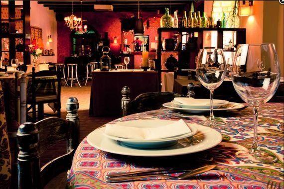 El Arriate: cocina de