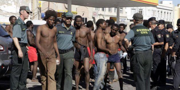 Testimonios de inmigrantes en la valla de Melilla:
