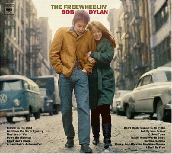 David Cameron y su mujer, a lo Bob Dylan