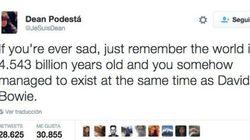 El tuit más positivo sobre la muerte de David