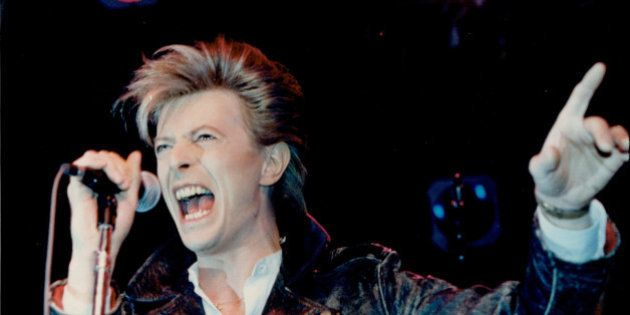 TORONTO, ON - FILES: David Bowie performs in Toronto, in this file photo. Bowie, legendary pop star,...