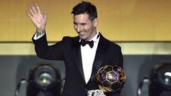 Leo Messi gana su quinto Balón de