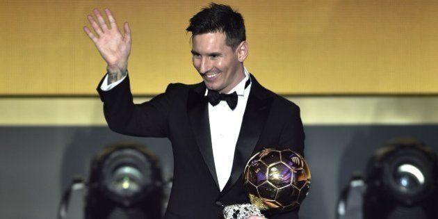 ab8acffde6ba7 Messi gana su quinto Balón de Oro