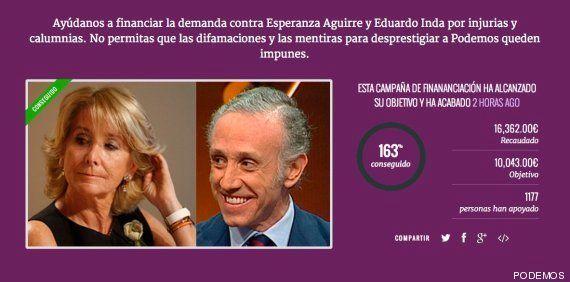 Aguirre reta a Pablo Iglesias a que done a las víctimas de ETA lo recaudado para su
