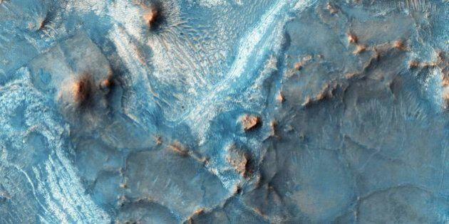 Nuevas fotos de la NASA demuestran áreas de colores en