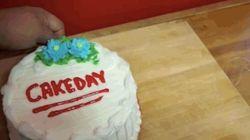 Cómo cortar tarta con hilo