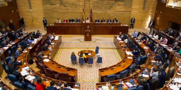 PP y Ciudadanos se lían en la Asamblea de Madrid y pierden una