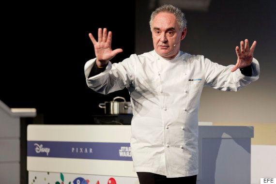 Ferran Adrià se alía con Mickey (y compañía) para enseñar a cocinar sano en