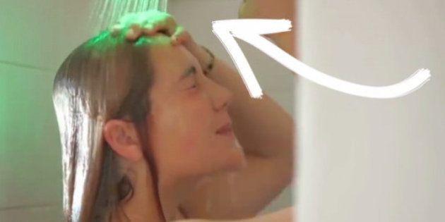 El cabezal de ducha que ayuda a ahorrar agua