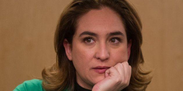 Colau defiende una candidatura con ICV, CUP y Podemos para las municipales de